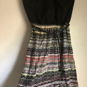 Casual Cocktail High-Low Dress